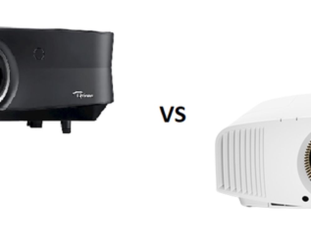 Test comparatif – Optoma UHZ65 vs Sony VPL-VW360ES : David contre Goliath !