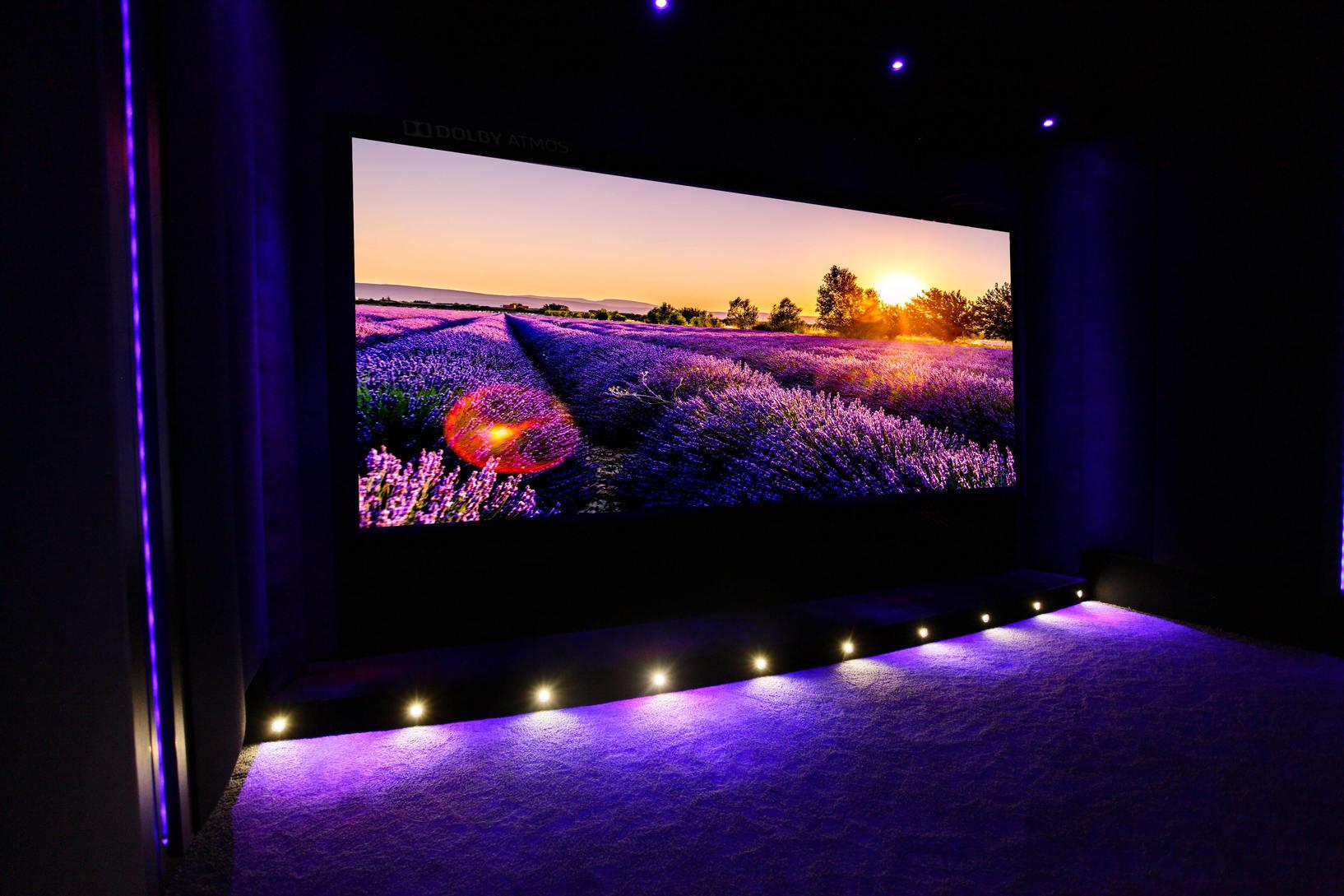 Cinema Prive Salle Dediee Ou Piece De Vie Home Cinema