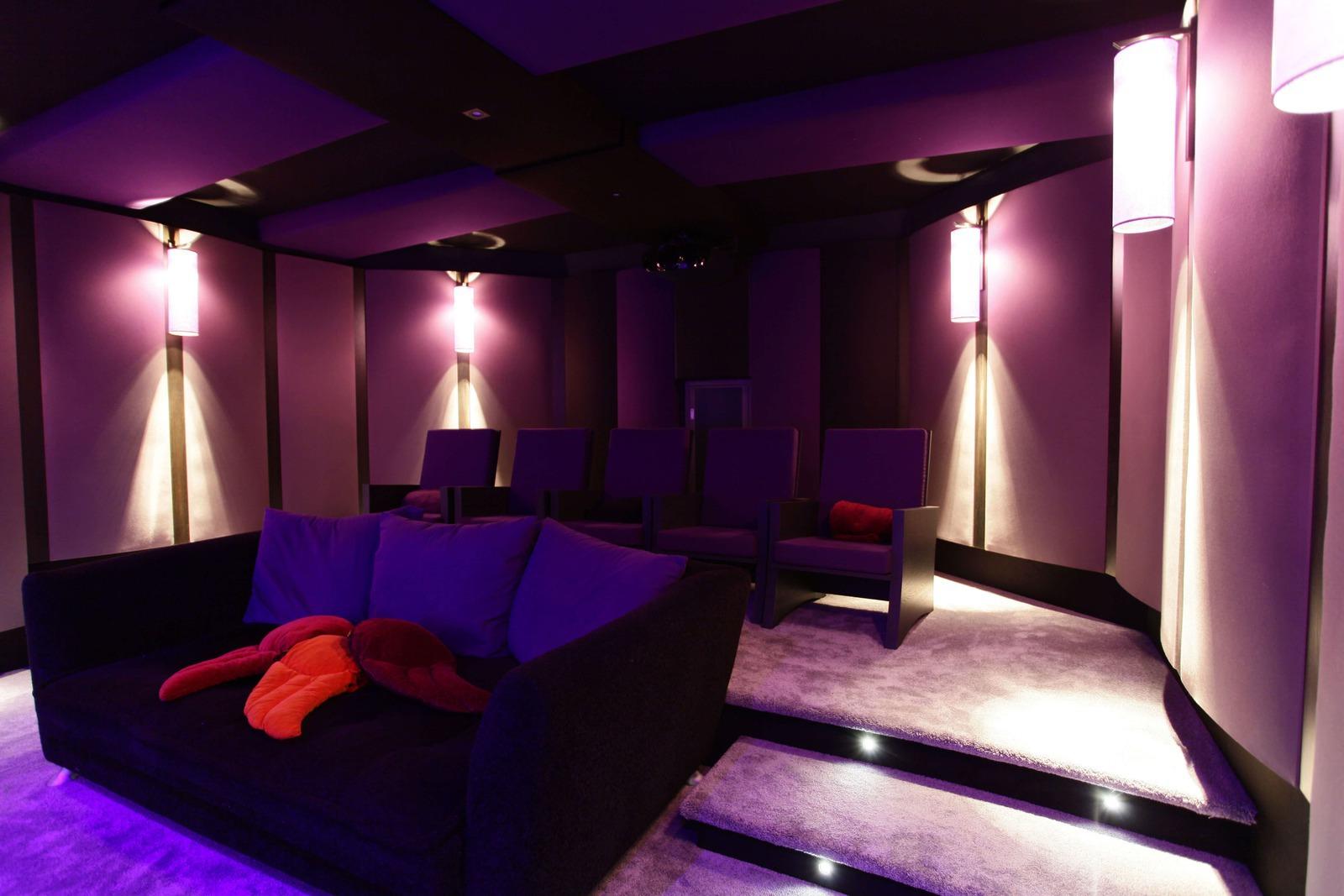 Cinema Prive Salle Dediee Ou Piece De Vie Home Cinema Tendances