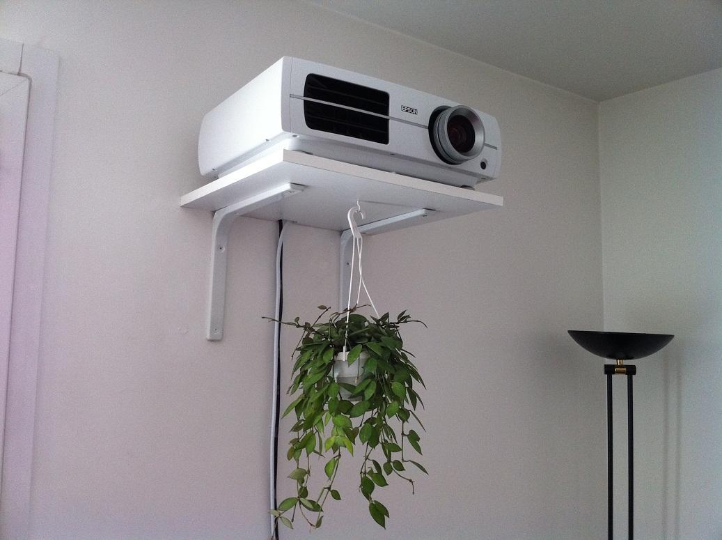 Comment installer un vidéoprojecteur dans un salon    Home Cinéma ...