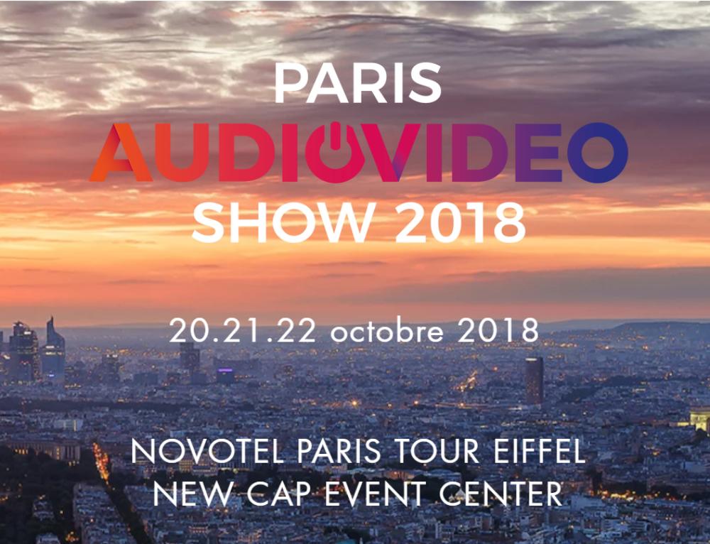 Paris Audio Vidéo Show 2018