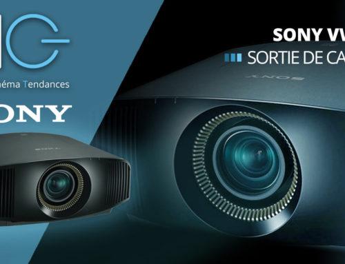 Sortie de carton du vidéoprojecteur Sony VPL-VW590ES