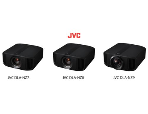 3 nouveaux projecteurs laser JVC 4K natifs !